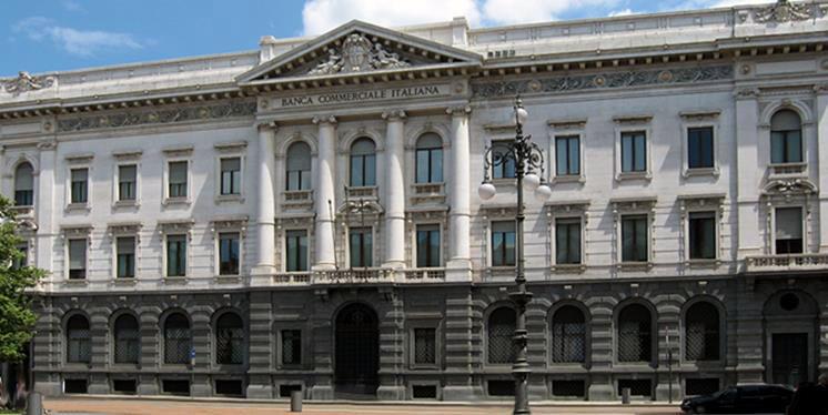 La storica sede a Milano