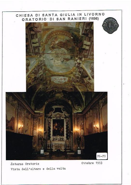Restauro Oratorio di San Ranieri Livorno 04