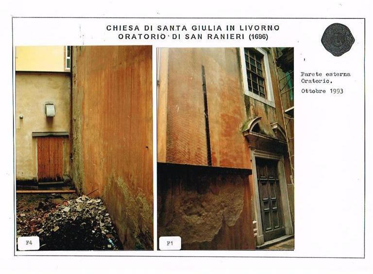 Restauro Oratorio di San Ranieri Livorno 06