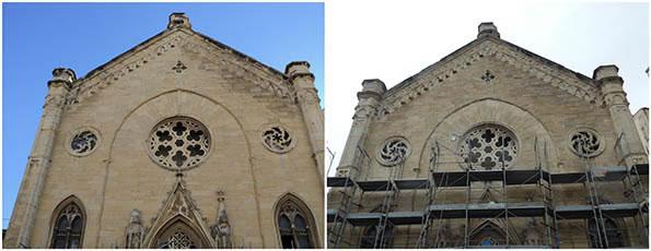 Restauro della Chiesa degli Olandesi
